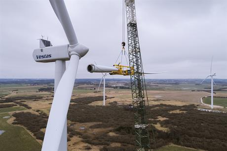 A prototype of Vestas' V120-2.0MW is now operating at the Lem Kjær in western Jutland in Denmark