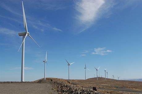 Vestas will service its V80-1.8MW turbines at Wild Horse (Pic: Anna Jacobs)