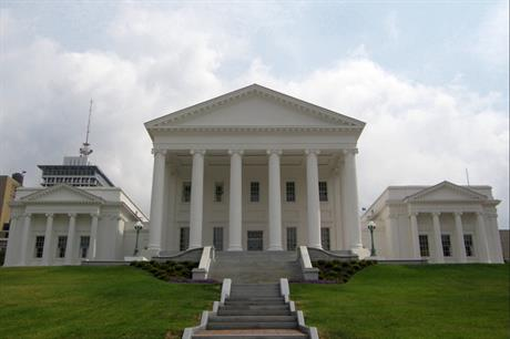 Dominion Energy must source power from 3GW of onshore wind and solar projects under Virginia law (Virginia state capitol - pic credit: Jim Bowen)