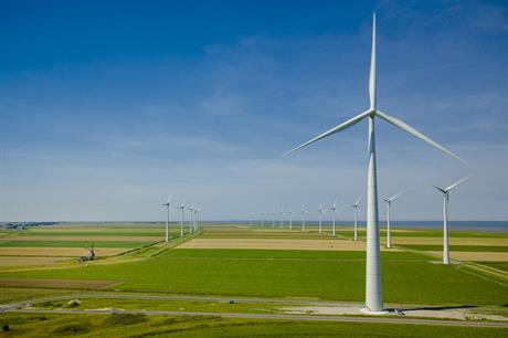 Enercon will supply 13 E-136 turbines to the project near Eemshaven port