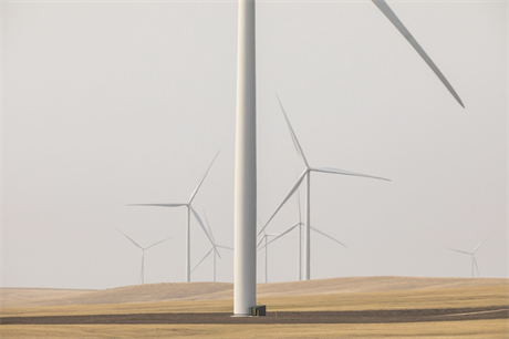 Ørsted's 103MW Willow Creek wind farm was one of ten new US wind farms commissioned in Q3 2020