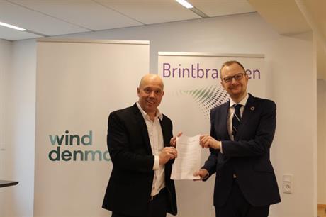 The alliance between Wind Denmark and Hydrogen Denmark (Brintbrachen) will promote power-to-X projects