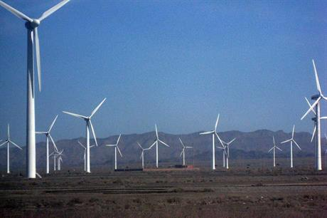 China aims to double wind capacity by 2020