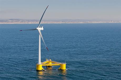 Offshore wind has been slow to take off in southern Europe, although WindFloat Atlantic's 2MW demonstration project operated in Portuguese waters from 2011 to 2016