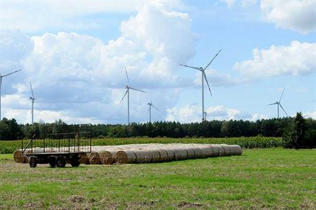 Vestas V112 turbines at the Gollnitz-West project