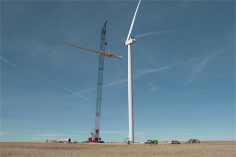 Xcel Energy's Rush Creek uses Vestas V100 2MW turbines