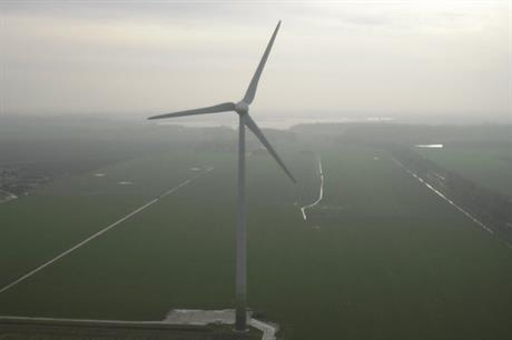 De Windcentrale's 2.3MW The Young Hero project in Groningen provides power to more than 10,000 customers