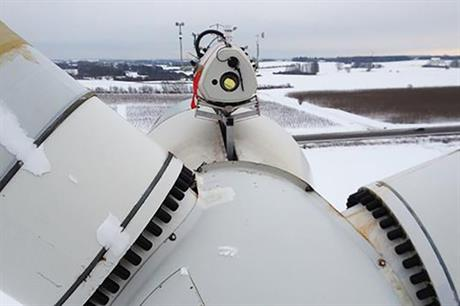 ZephIR's DM lidar can gather wind data up to 300 metres in front of a turbine