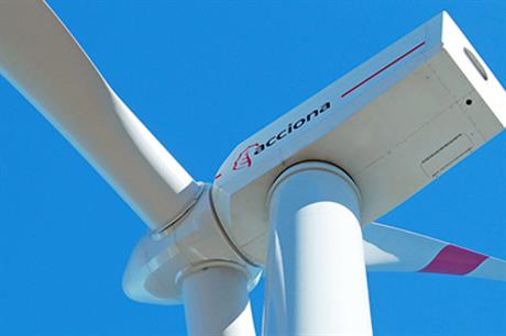 Acciona will deliver 100 AW 116/3000 turbines to Green Pastures