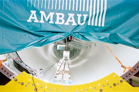 Tower manufacturer Ambau filed for insolvency in mid-February