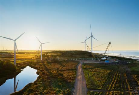 Wind turbines at the Måde test sites near Esbjerg (pic credit: Apple)