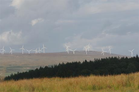 Greencoat has a stake in the Braes of Doune wind farm