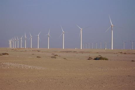 Gamesa G52's in Egypt