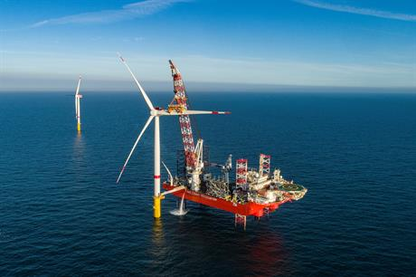 EnBW's Hohe See and Albatros offshore wind projects were installed in 2019