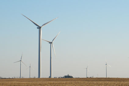 Lost Creek Wind uses GE 1.5MW turbines
