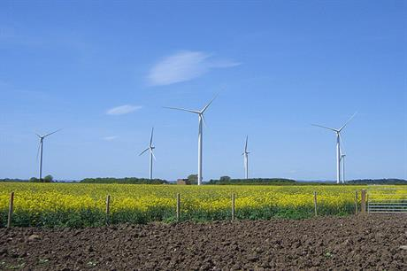 Infinis operates the 30MW Lissett Airfield wind plant in Yorkshire
