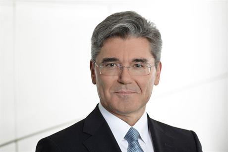 Siemens new CEO Joe Kaeser