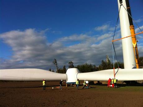 Aela's first project, the 33MW Negrete wind farm, began commercial operation in February 2014