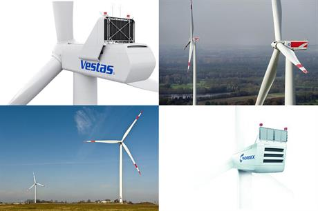 Four manufacturers added 3MW turbine options at Husum Wind 2015