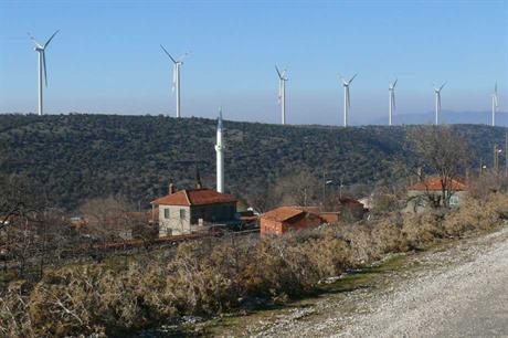 Nordex turbines at a project in Turkey