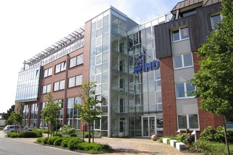PNE headquarters at Cuxhaven in Germany