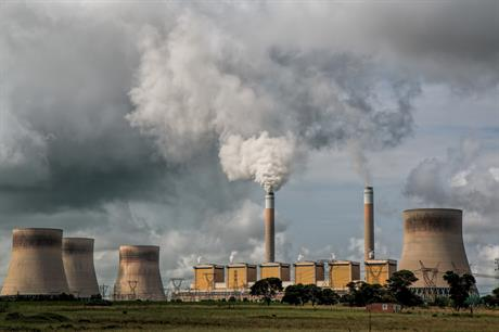 The ETS sets a cap on how much CO2 heavy industry and power stations can emit