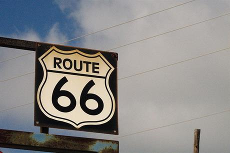 The project is located near the historic Route 66