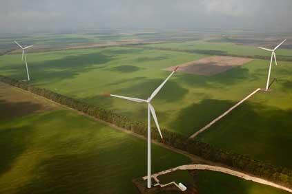 Enel's Shabla wind farm in Bulgaria