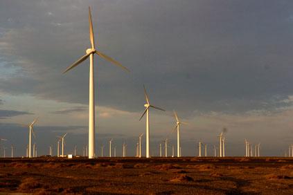 Sinovel 1.5MW turbines