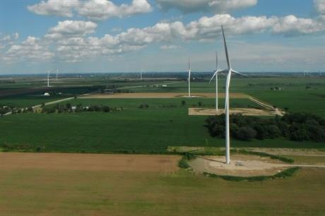 Pattern Energy's South Kent wind farm in Ontario came online in 2014