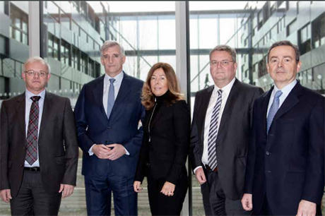 Vestas board. Runevad (second right).