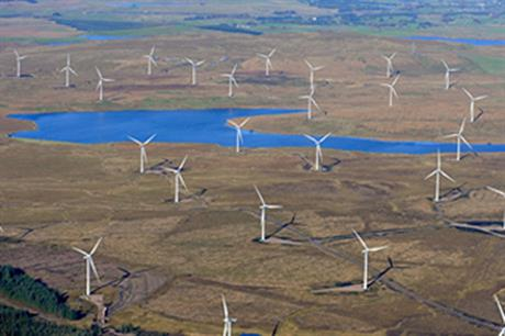 Whitelee is the largest onshore wind farm in Europe