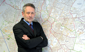 """Soulsby: """"A mayor can bring together potential partners in a way that is more difficult for a council leader"""". Neville Chadwick photo"""