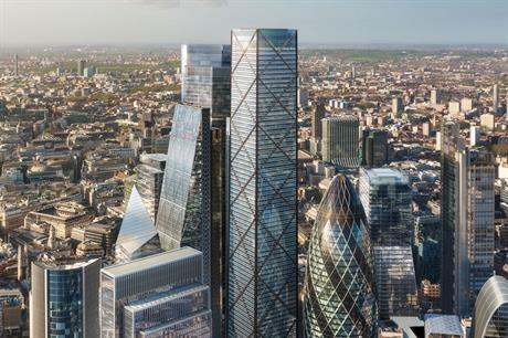 1 Undershaft (centre): tower would be City's tallest