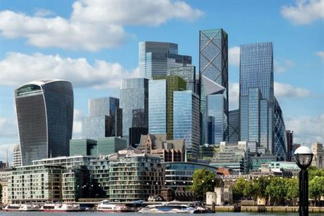 A visualisation of the approved 50 Fenchurch Street. Pic: City of London