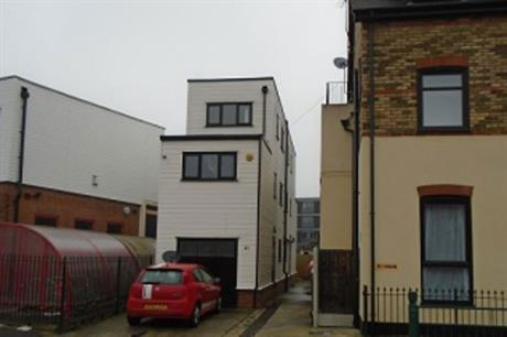 The property in South End (pic Southend-on-Sea Borough Council)