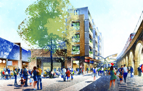 Shepeherds Bush Market: outline plans approved earlier this year