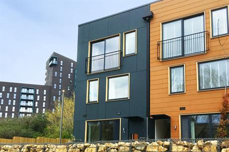 The Leeds Climate Innovation District comprises more than 121 zero-carbon houses (pic: Citu Developments)