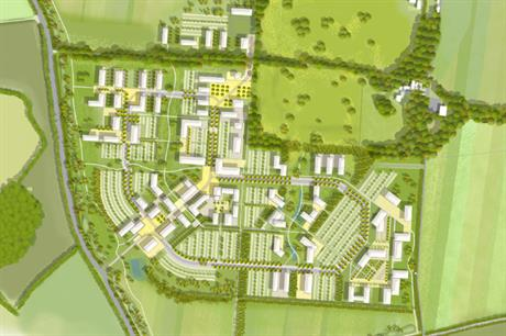 An illustrative masterplan of the proposed agritech park. Image: SmithsonHill