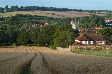 Amersham, Bucks, in the former Chiltern district. Pic: Getty Images