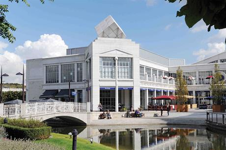 Bluewater: a prominent project from Dartford Borough Council