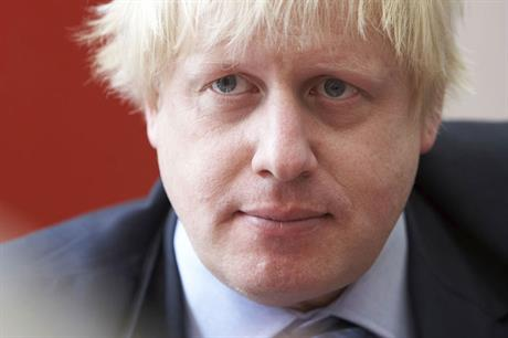 Boris Johnson: former London mayor is favourite to succeed Theresa May as PM