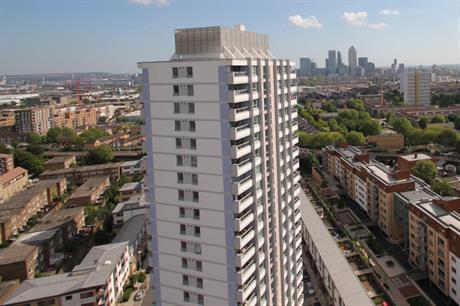 Bow Cross: scheme saw existing tower blocks refurbished