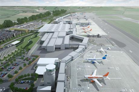 A visualisation of the airport expansion plans (Image: Bristol Airport)