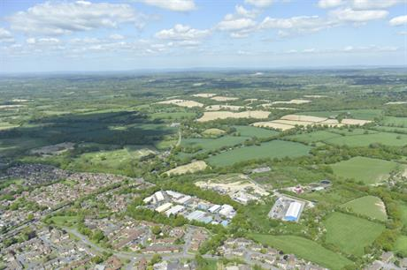 The Burgess Hill Northern Arc site. Image: Homes England