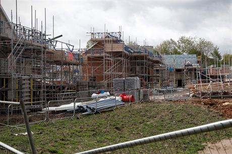 Construction: downturn has led to calls for planning obligation requirements to be relaxed (pic: Getty)