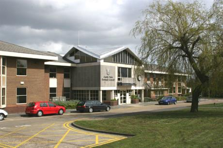 Castle Point Council offices. Pic: Terry Joyce, Geograph.org