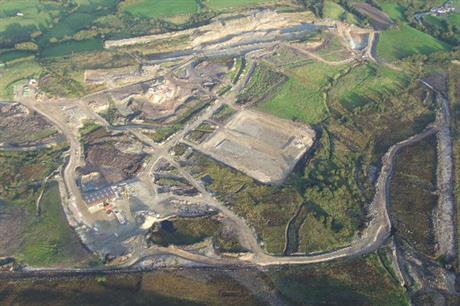 The mine at Cavanacaw (pic: Gordon Dunn, Geograph)