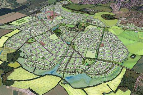 Chilmington Green: 5,750 homes are planned