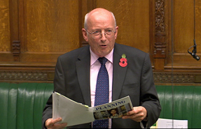 Raynsford: cited Planning magazine research during Commons debate